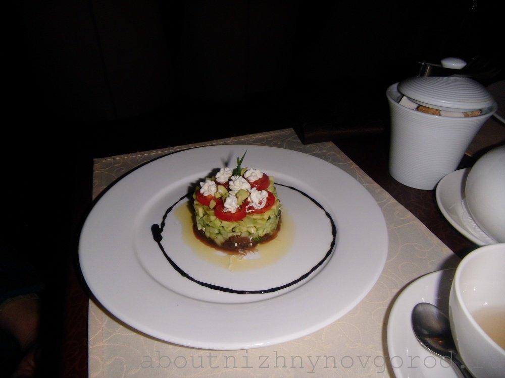 Салат из оленины