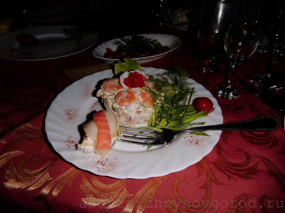 Салат ни рыба ни мясо