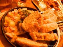 Кнедлики в чешском ресторане Дружкова Кружка