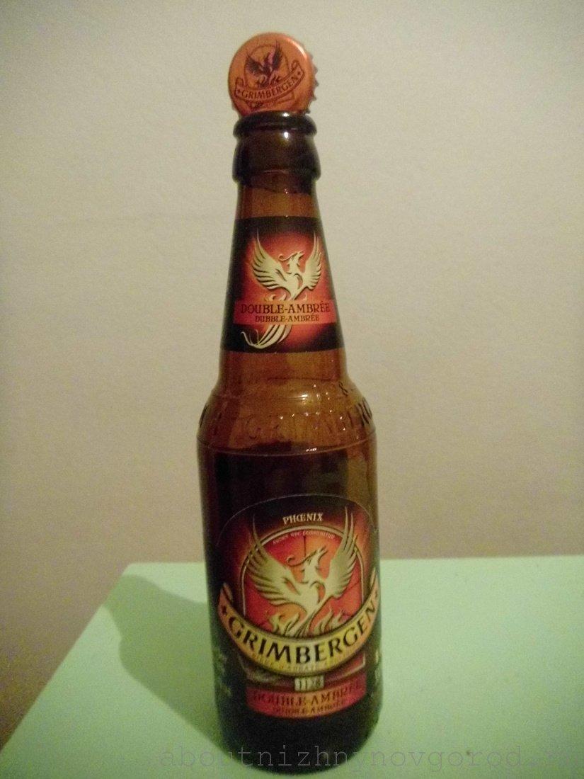 Пиво гримберген в бутылке
