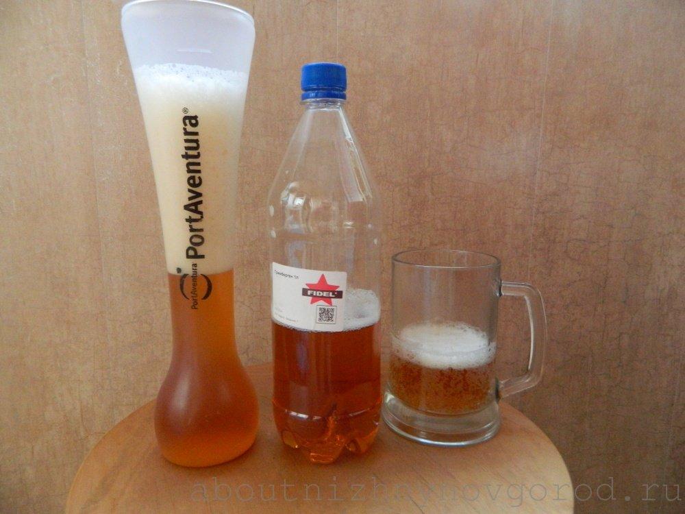 В Нижнем Новгороде разливное пиво из Фиделя