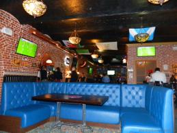 Ambiance in Harat's pub
