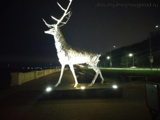 Куда сходить с ребенком в Нижнем Новгороде: достопримечательность нижегородский олень