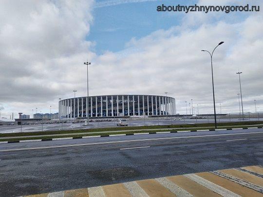 Куда сходить с детьми в Нижнем Новгороде: стадион
