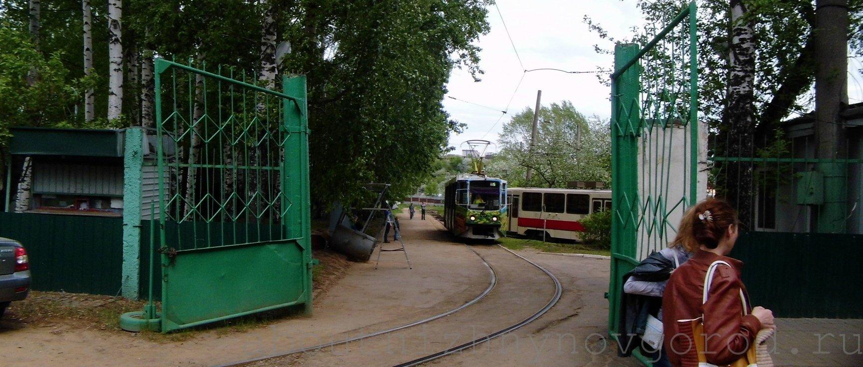 Музей трамваем