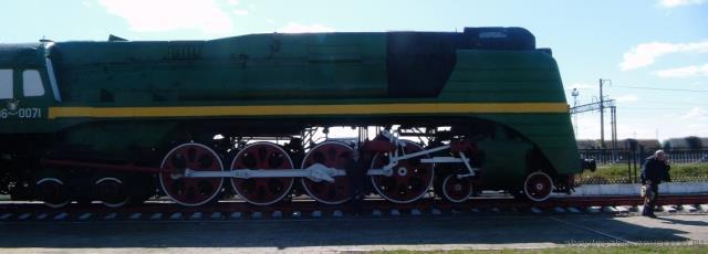 Вот такие вот гиганты-паровозы