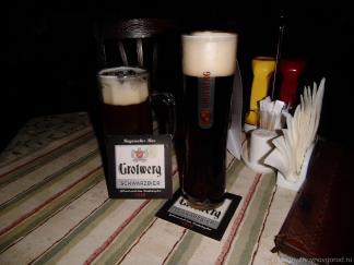 Пиво Гротверг в Нижнем Новгороде в пирушке