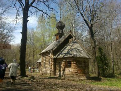 Церковь. Русское деревянное зодчество в щелковском музее