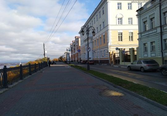 Верхне-волжская набережная в Нижнем Новгороде