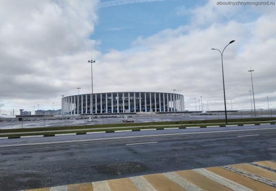 Фото стадиона в Нижнем Новгороде