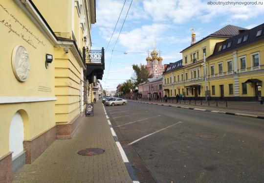Улица Рождественская в Нижнем Новгороде