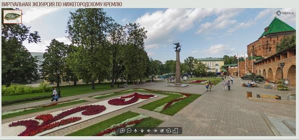 Виртуальная экскурсия по нижегородскому Кремлю