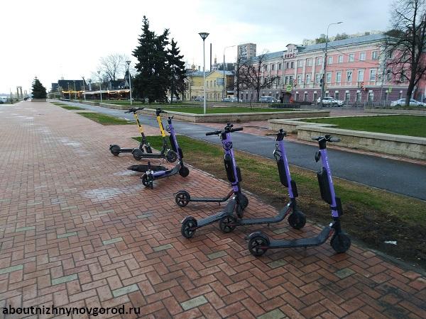 Прокат самокатов на Нижневолжской