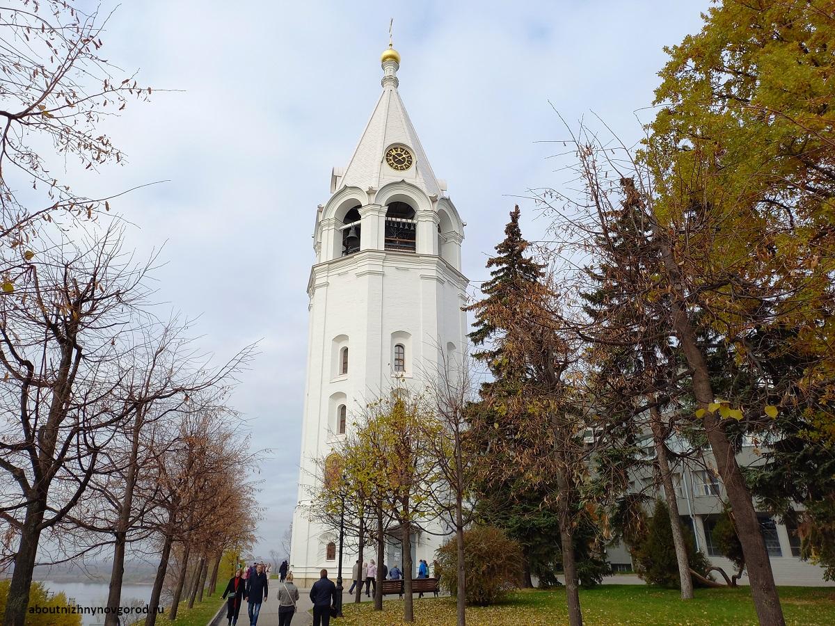 Фотография спасо-преображенской колокольни